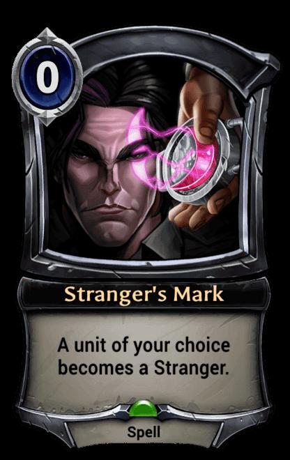 Card image for Stranger's Mark