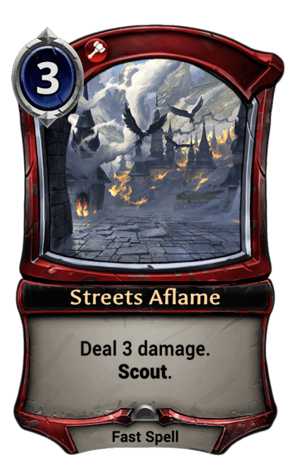 Card image for Streets Aflame