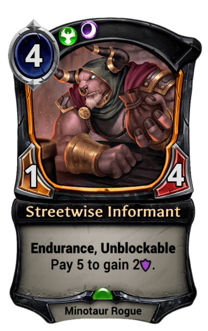 Card image for Streetwise Informant
