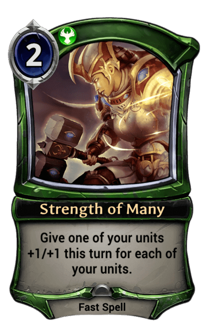 Card image for Strength of Many