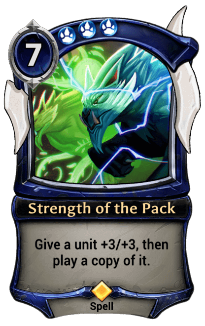 Card image for Strength of the Pack