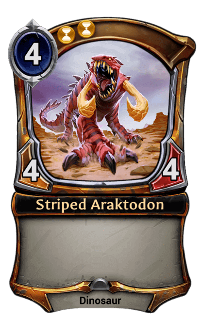 Card image for Striped Araktodon