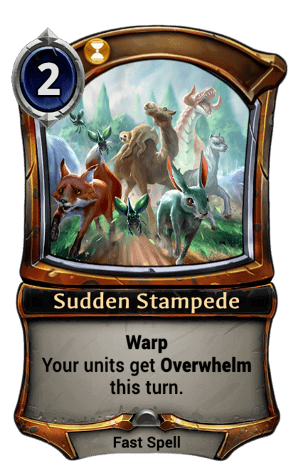 Card image for Sudden Stampede
