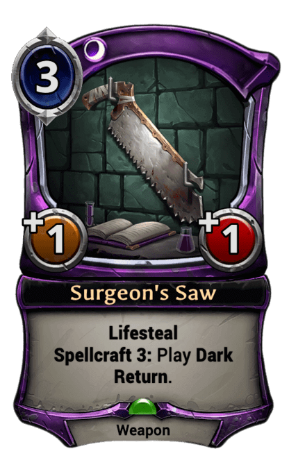Card image for Surgeon's Saw