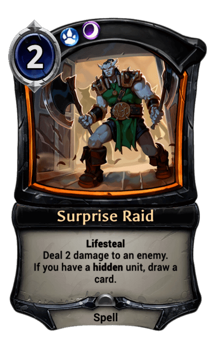 Card image for Surprise Raid