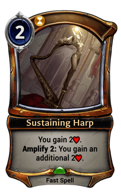 Card image for Sustaining Harp
