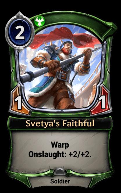 Card image for Svetya's Faithful