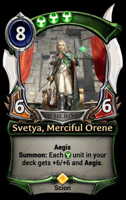 Card image for Svetya, Merciful Orene