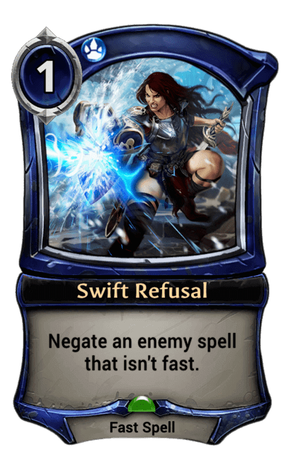 Card image for Swift Refusal