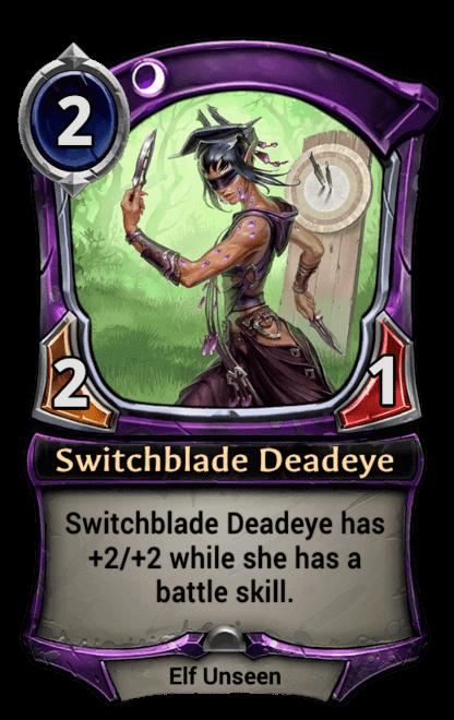 Card image for Switchblade Deadeye
