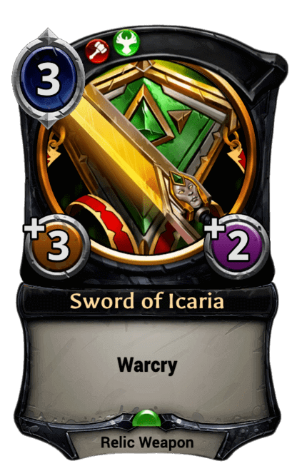 Card image for Sword of Icaria