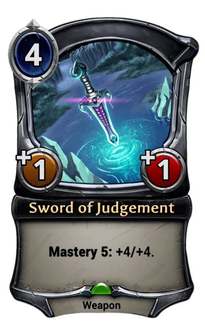 Card image for Sword of Judgement