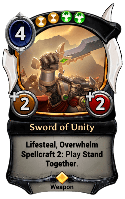 Card image for Sword of Unity