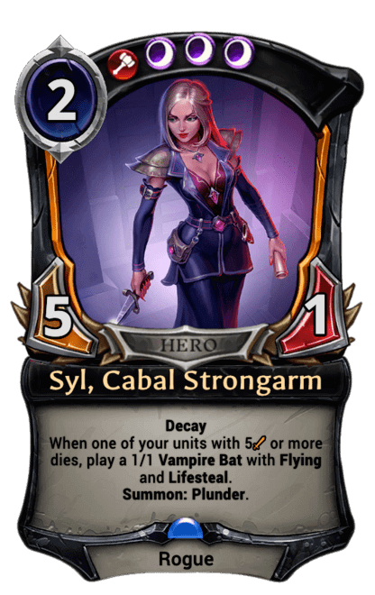 Card image for Syl, Cabal Strongarm