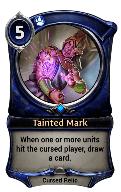 Card image for Tainted Mark