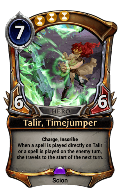 Card image for Talir, Timejumper