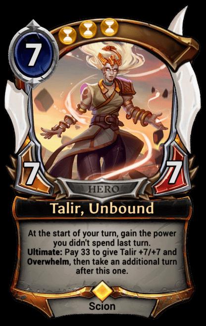 Card image for Talir, Unbound
