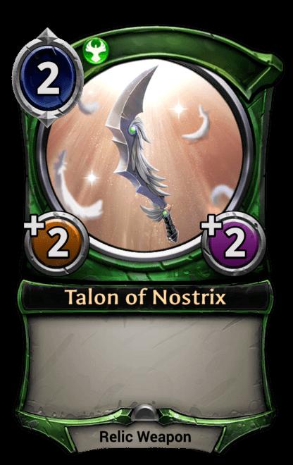 Card image for Talon of Nostrix