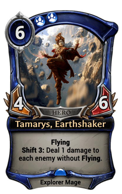 Card image for Tamarys, Earthshaker