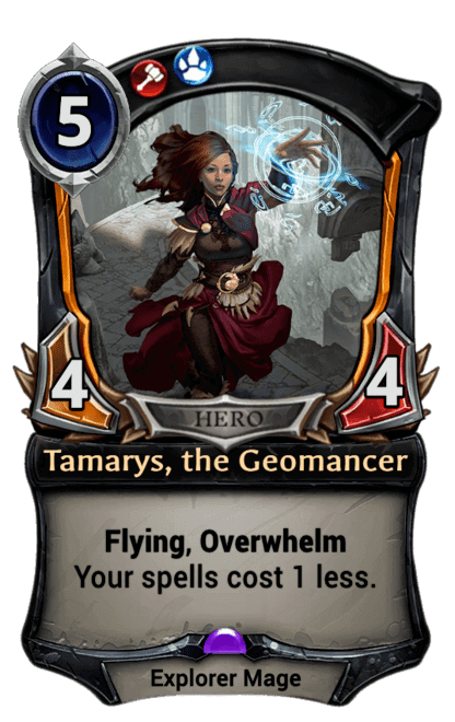 Card image for Tamarys, the Geomancer