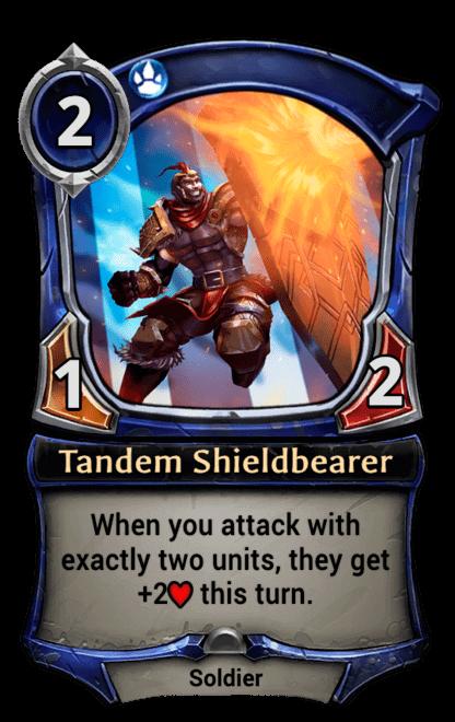 Card image for Tandem Shieldbearer