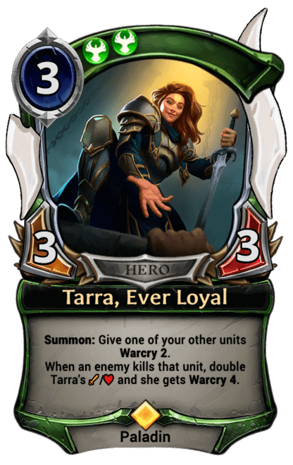 Card image for Tarra, Ever Loyal
