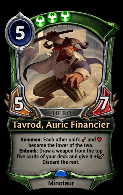 Card image for Tavrod, Auric Financier