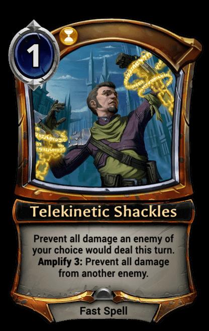 Card image for Telekinetic Shackles
