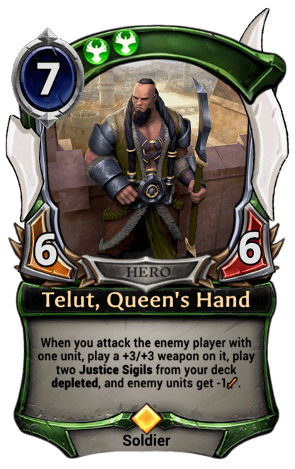 Card image for Telut, Queen's Hand