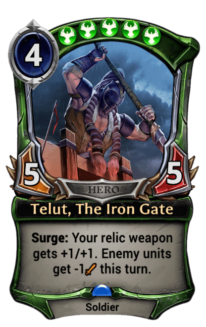 Card image for Telut, The Iron Gate