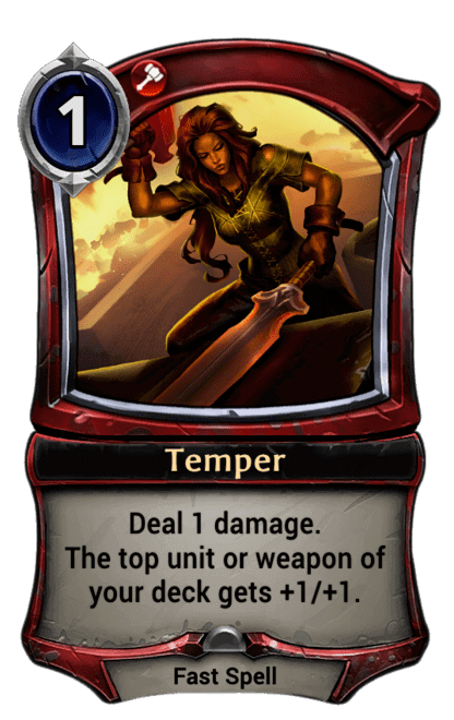 Card image for Temper