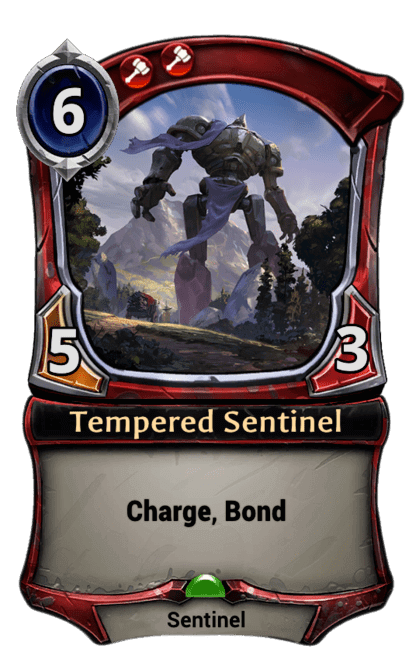 Card image for Tempered Sentinel