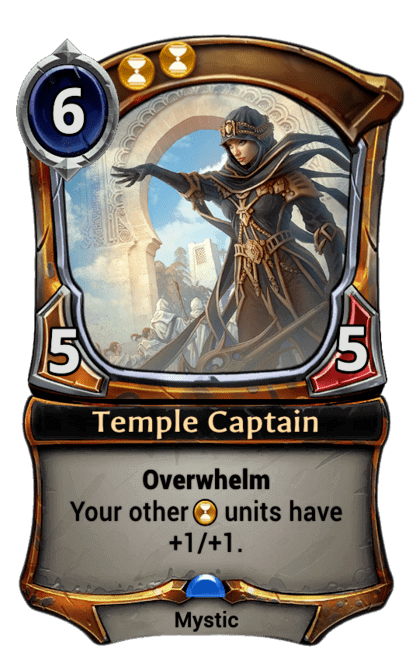 Card image for Temple Captain