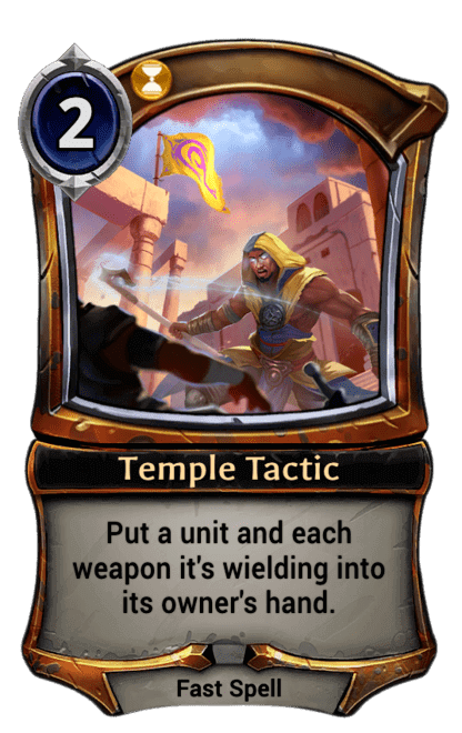 Card image for Temple Tactic