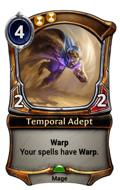 Card image for Temporal Adept