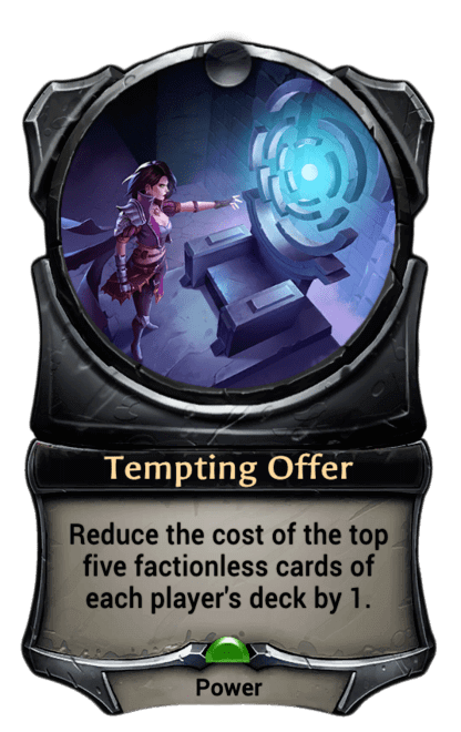 Card image for Tempting Offer