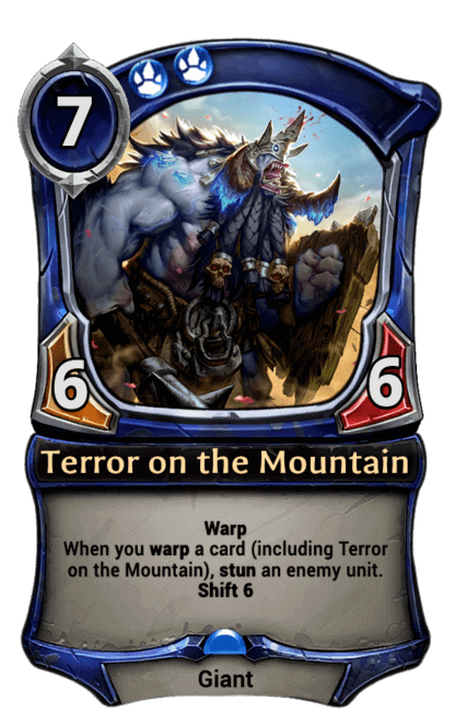 Card image for Terror on the Mountain