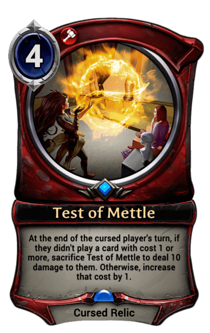 Card image for Test of Mettle