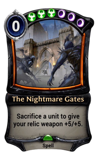 Card image for The Nightmare Gates