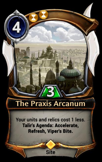 Card image for The Praxis Arcanum