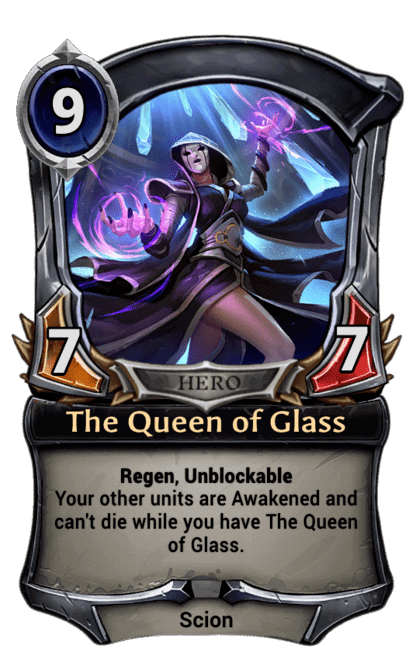 Card image for The Queen of Glass