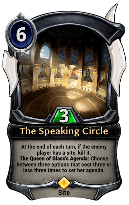Card image for The Speaking Circle