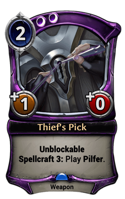 Card image for Thief's Pick