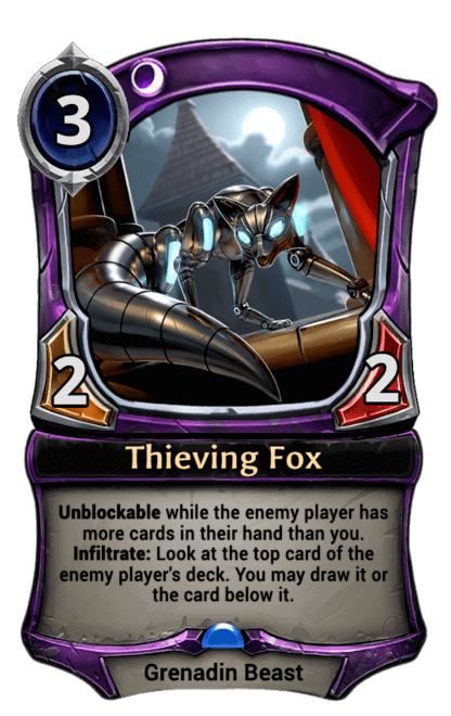 Card image for Thieving Fox
