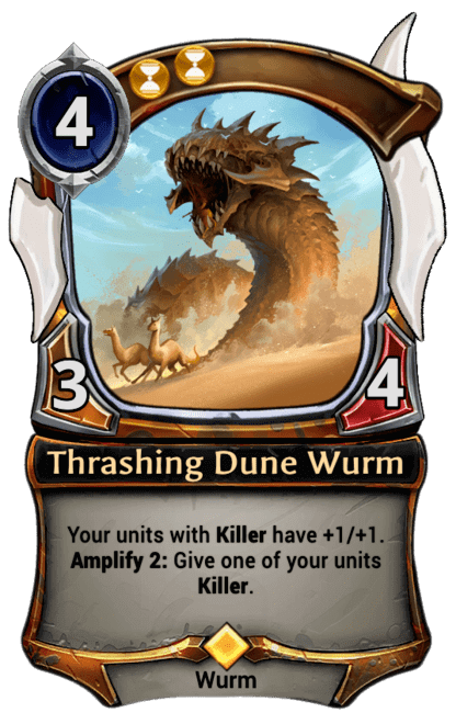 Card image for Thrashing Dune Wurm
