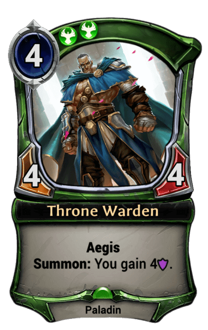 Card image for Throne Warden