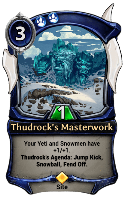 Card image for Thudrock's Masterwork