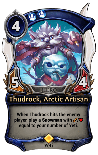 Card image for Thudrock, Arctic Artisan