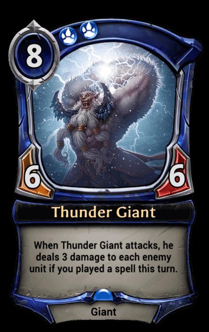Card image for Thunder Giant