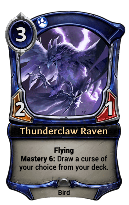 Card image for Thunderclaw Raven